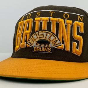 Boston Bruins New Era Snapback Cap Vintage Hockey